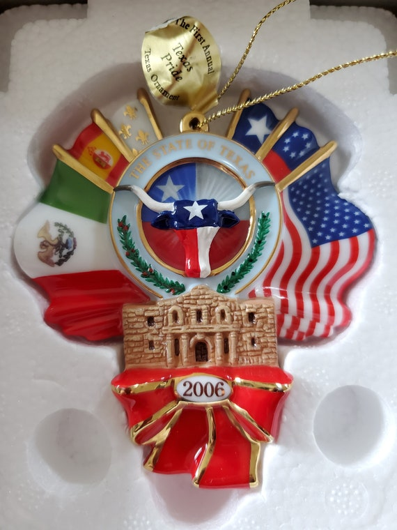 2006 Texas Danbury Mint Collectible Ornament