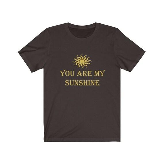 You are my Sunshine Unisex Jersey Short Sleeve Tee