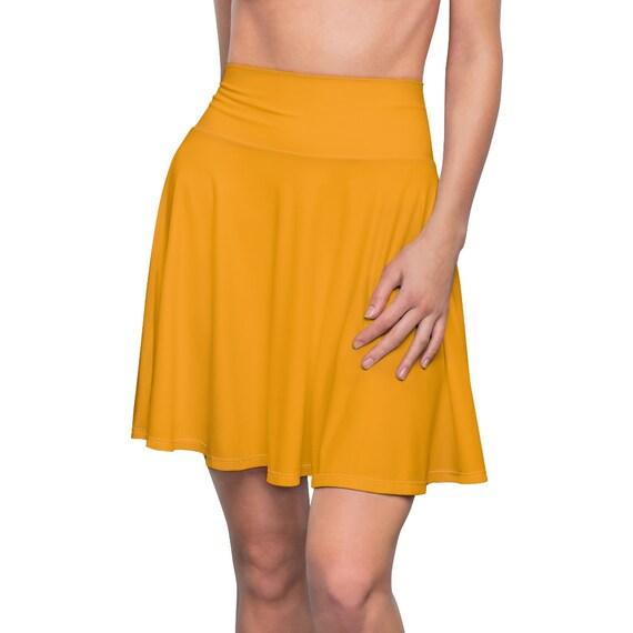 Women's Fruity Orange Skater Skirt