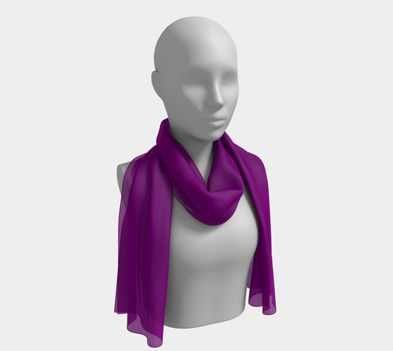 PurpleLongScarf