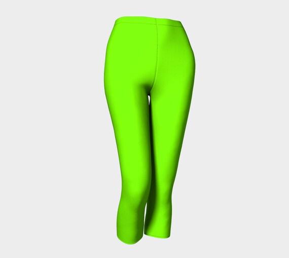 Chartreuse Capris