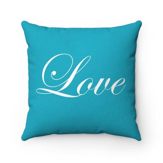 Love Spun Polyester Square Pillow