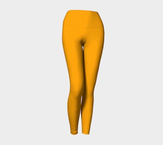 Fruity Tootie Orange Yoga Leggings