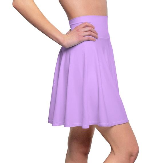 Women's Mauve Skater Skirt