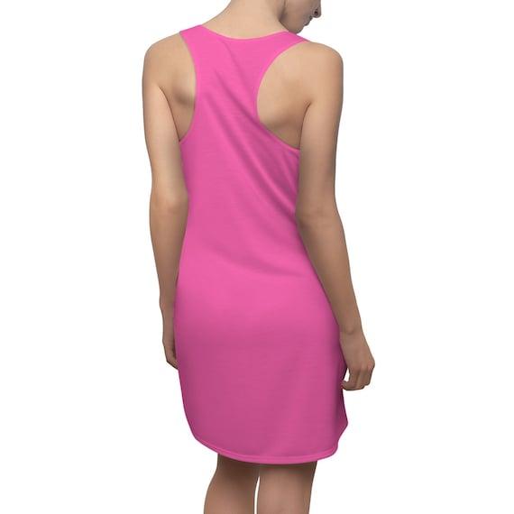 Hot Pink Racerback Dress