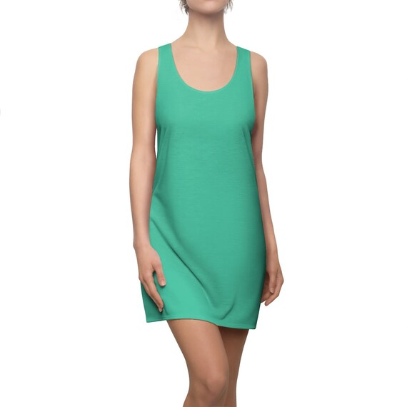Biscay Green Racerback Dress