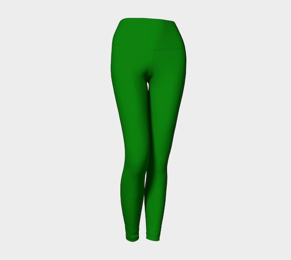 Plain Jane Green Yoga Leggings
