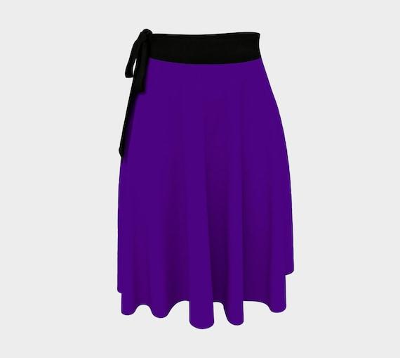 Indigo Wrap Skirt