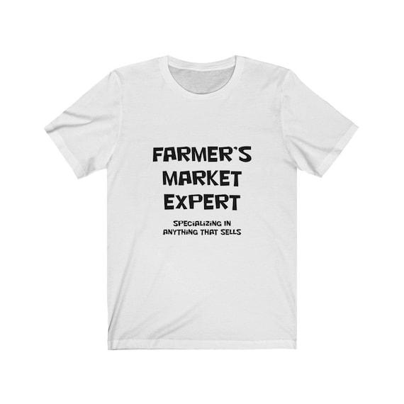 Unisex Jersey Short Sleeve Farmer's Market Expert Tee