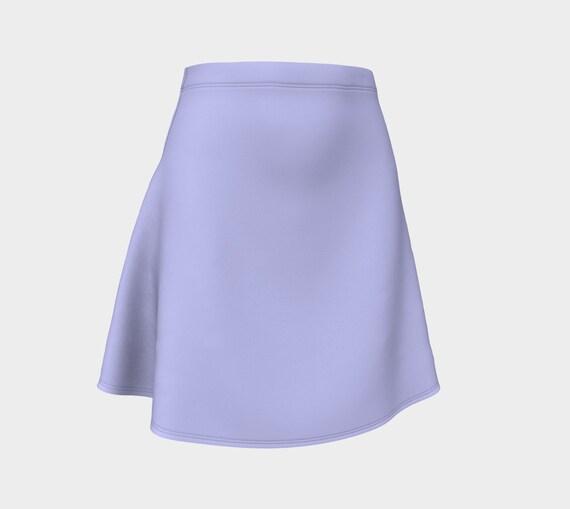 Periwinkle Flare Skirt