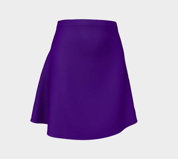 Indigo Flare Skirt