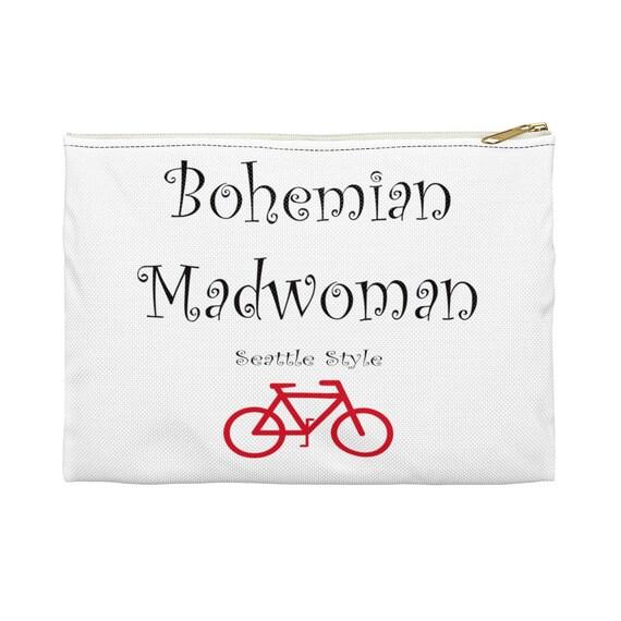 Bohemian Madwoman Seattle Style - Bike - Accessory Pouch