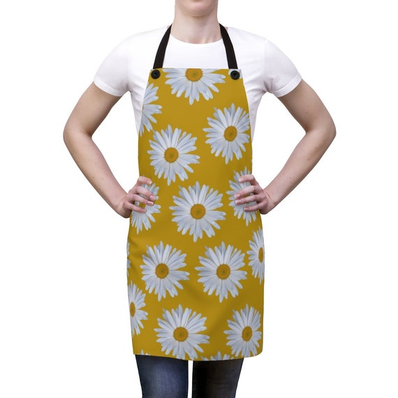 Yellow Daisy Apron