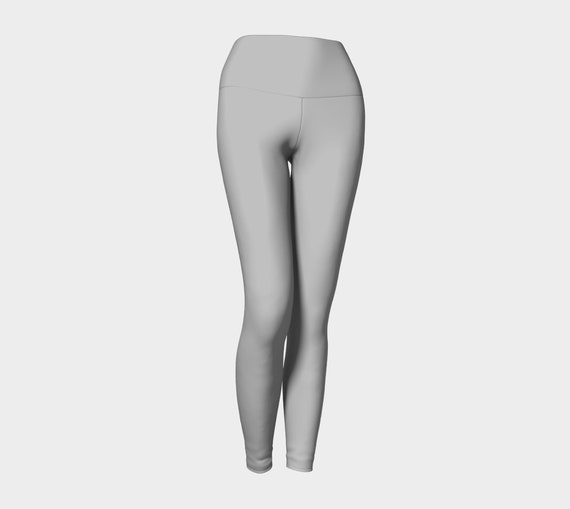 Silver Yoga Leggings