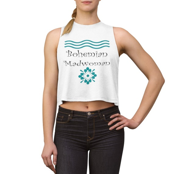 Bohemian Madwoman  - Women's Crop top Signature design