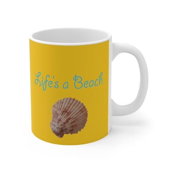 Life's A Beach Mug 11oz