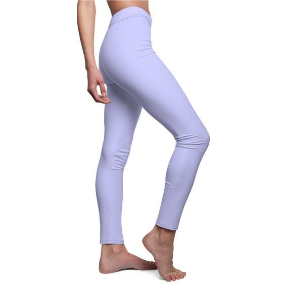 Women's Periwinkle Skinny Casual Leggings
