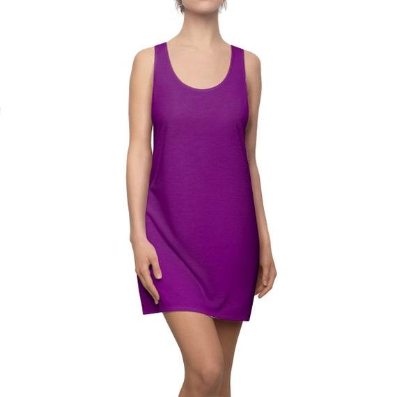 True Purple Racerback Dress