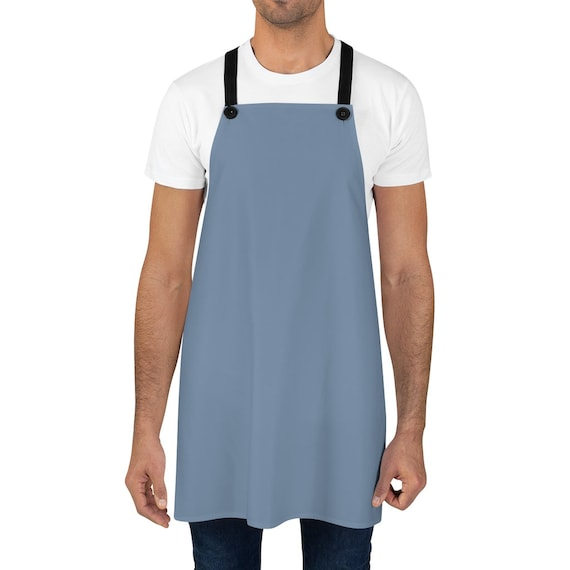 Denim (color) Apron