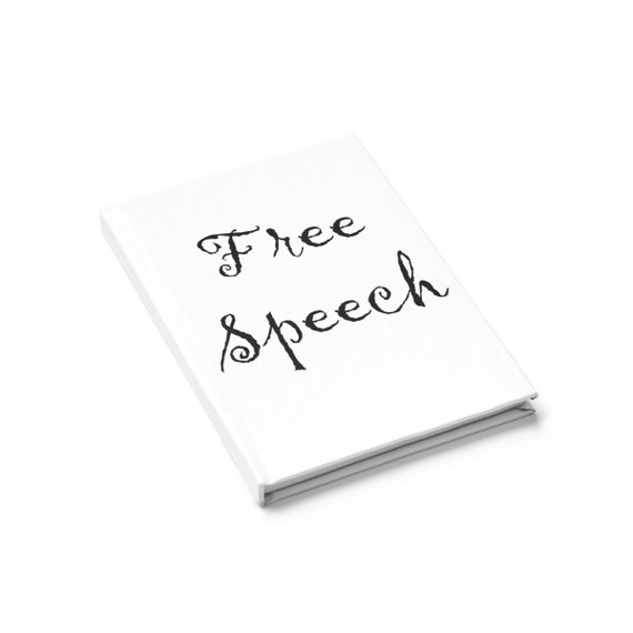 Free Speech Journal - Ruled Line