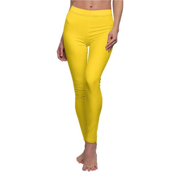 Women's Golden Skinny Casual Leggings
