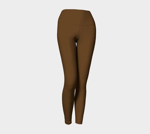 Brown Yoga Leggings