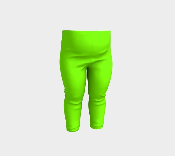 Chartreuse Baby Leggings