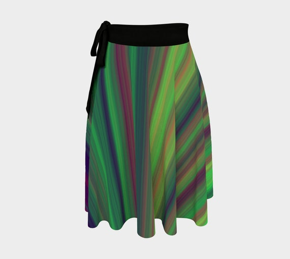 Tequila Sunrise Wrap Skirt