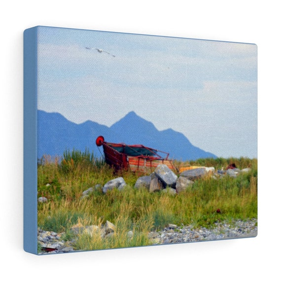 Norway Coastal Landscape Canvas Gallery Wraps