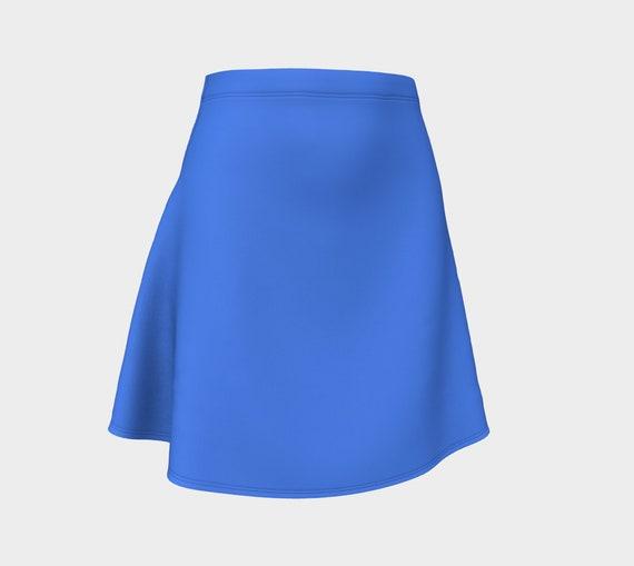 Blueberry Flare Skirt
