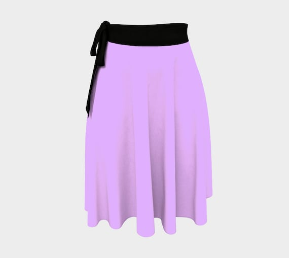 Mauve Wrap Skirt