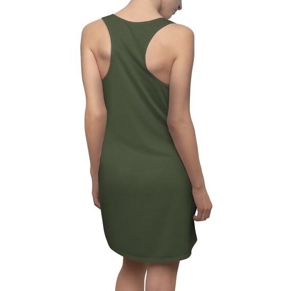 Dark Chive Racerback Dress