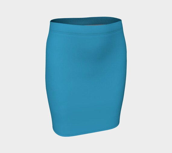 Peacock Fitted Skirt