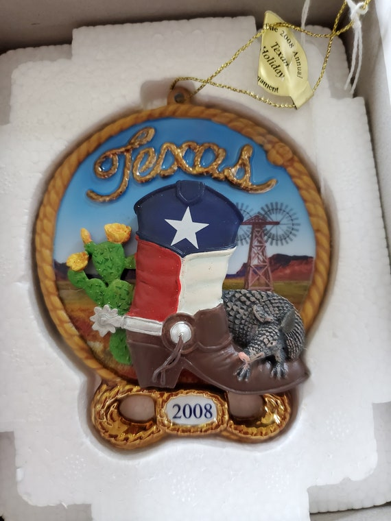 2008 Texas Danbury Mint Collectible Ornament