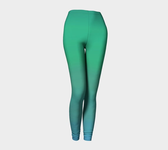 Bohemian Madwoman Ocean Breeze Leggings
