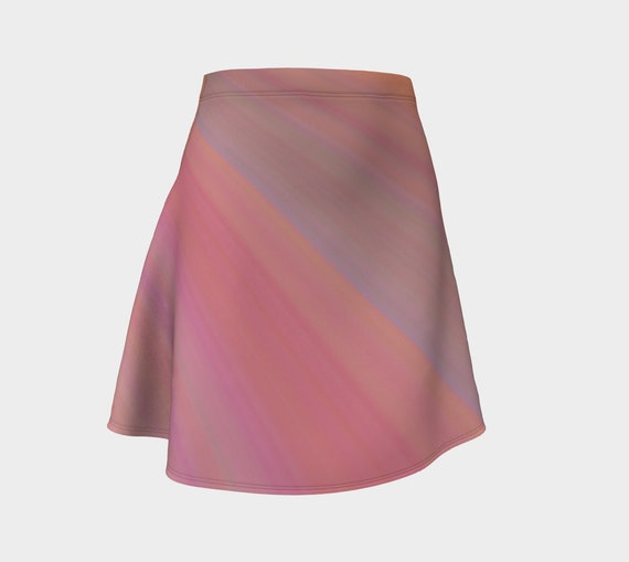 Just Peachy Flare Skirt
