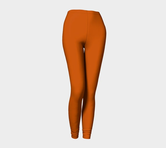 Bohemian Madwoman Burnt Orange Leggings