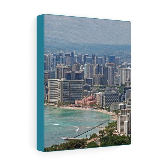Wakiki Beach, Honolulu, Hawaii Canvas Gallery Wraps