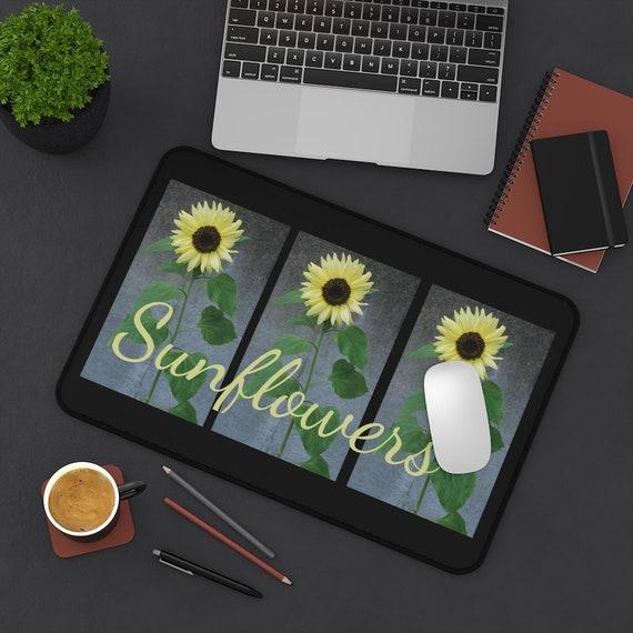 Sunflowers Desk Mat