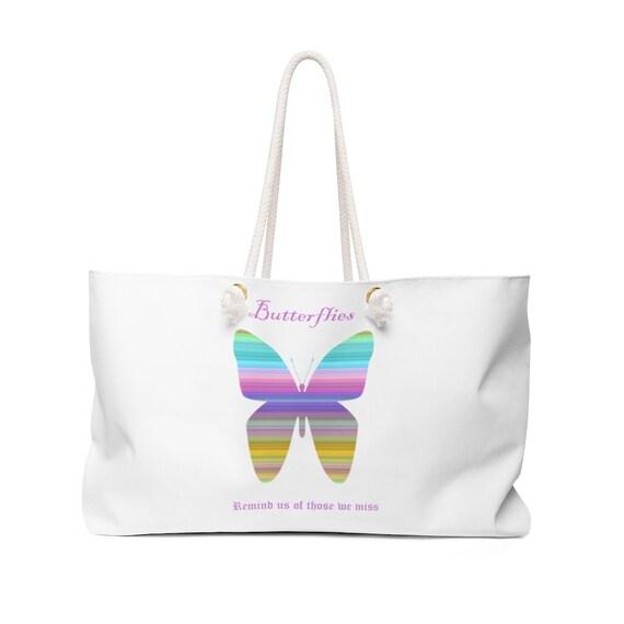 Butterfly Weekender Bag