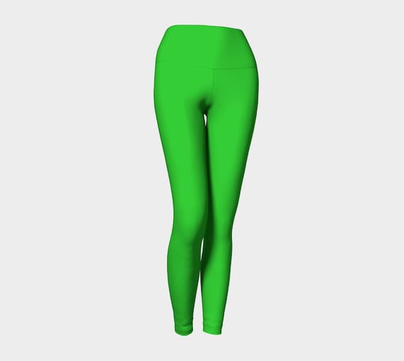Lime Yoga Leggings