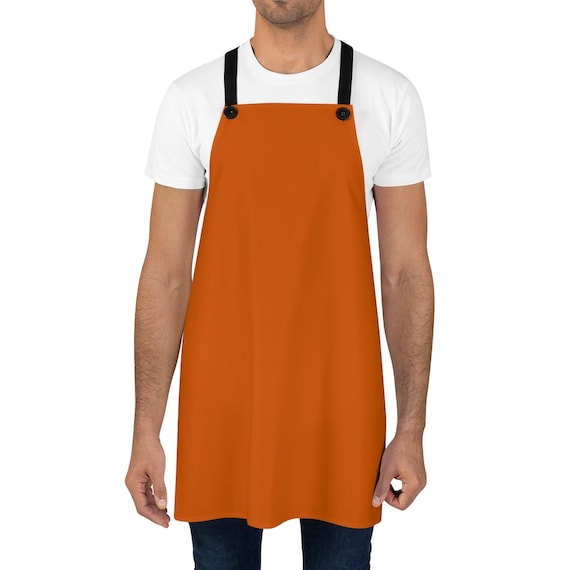 Burnt Orange Apron