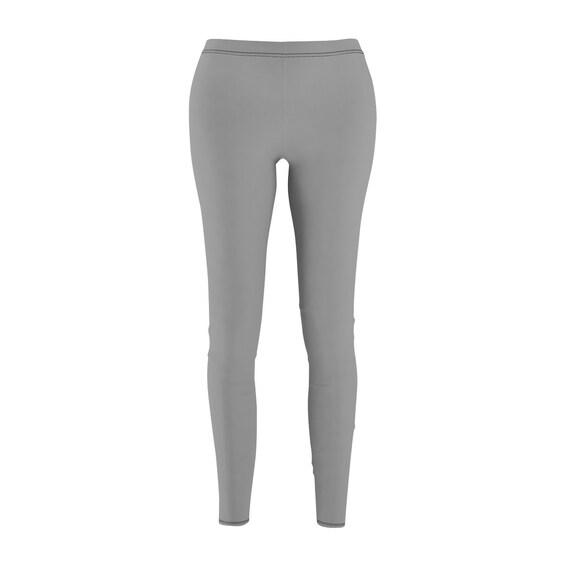 Women's Dark Gray Skinny Casual Leggings