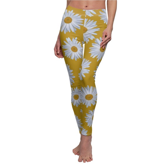 Pushing Up Daisies  - Skinny Casual Leggings