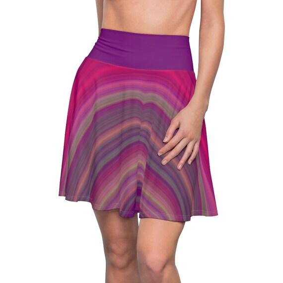Women's Bohemian Madwoman Skater Skirt