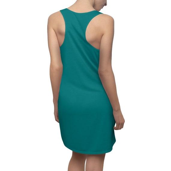 Teal Racerback Dress