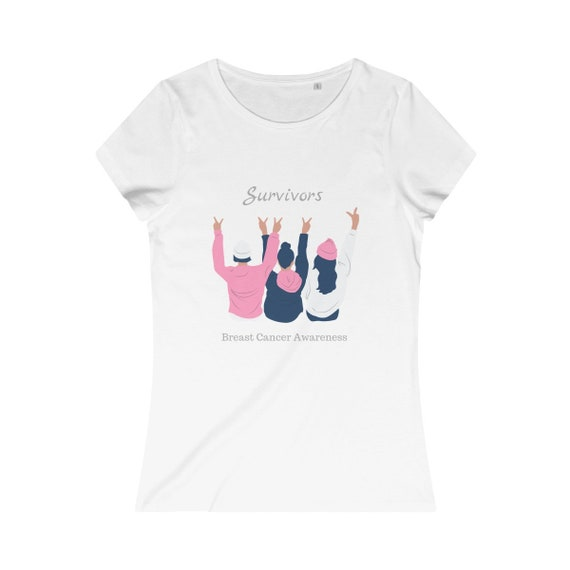 Breast Cancer Awareness Women's Organic Cotton Tee