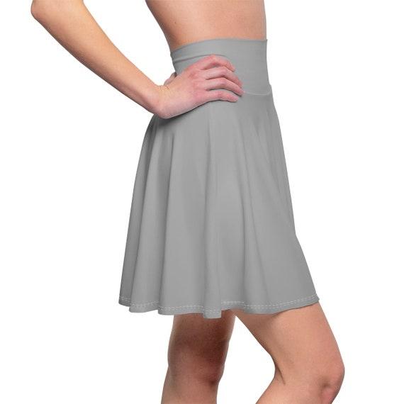 Women's Dark Grey Skater Skirt