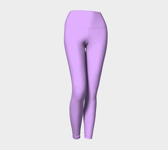 Mauve Yoga Leggings