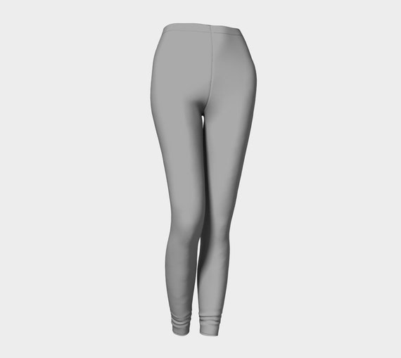 Bohemian Madwoman Grey Gray Leggings